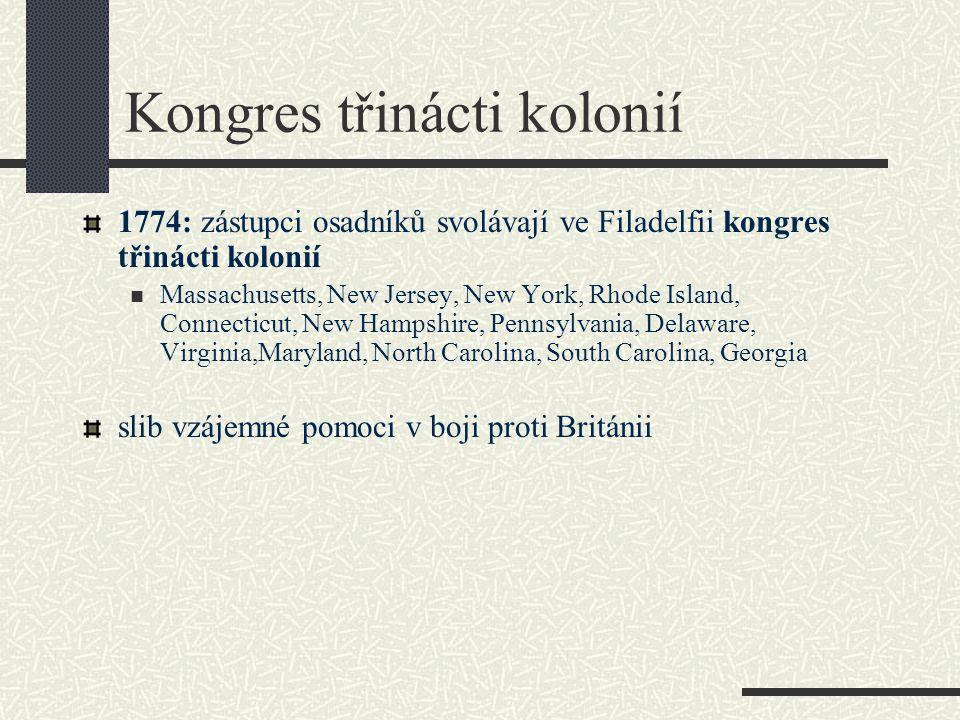 Kongres třinácti kolonií