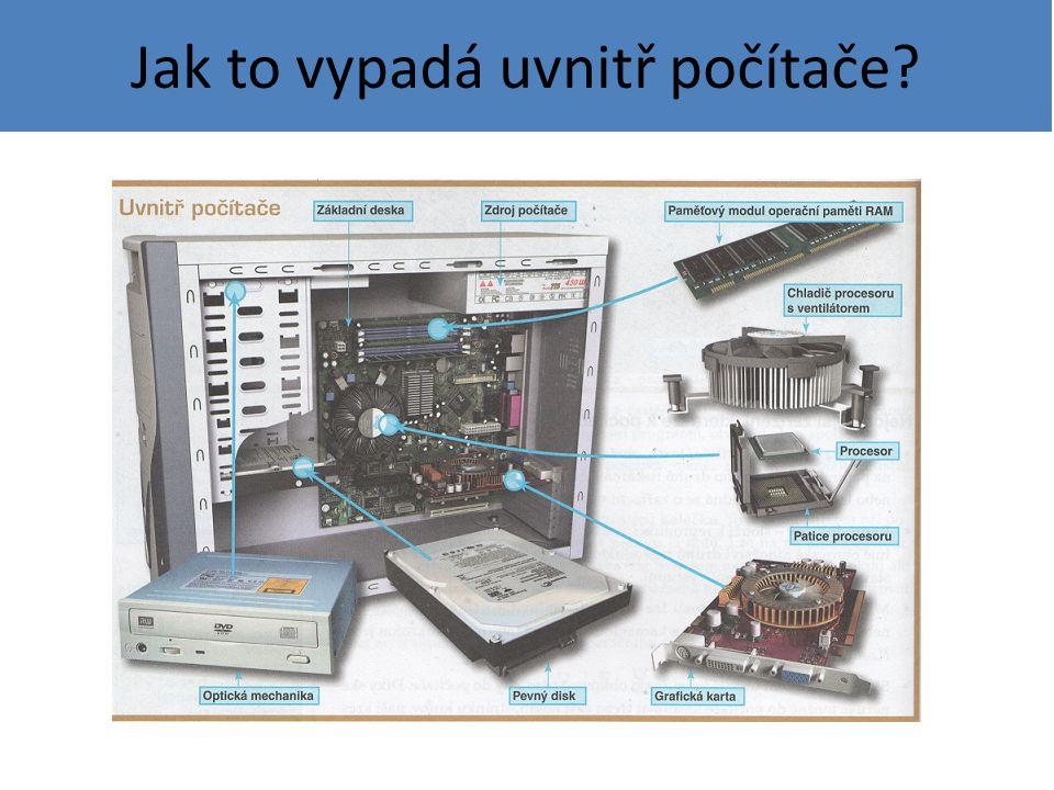 Jak to vypadá uvnitř počítače