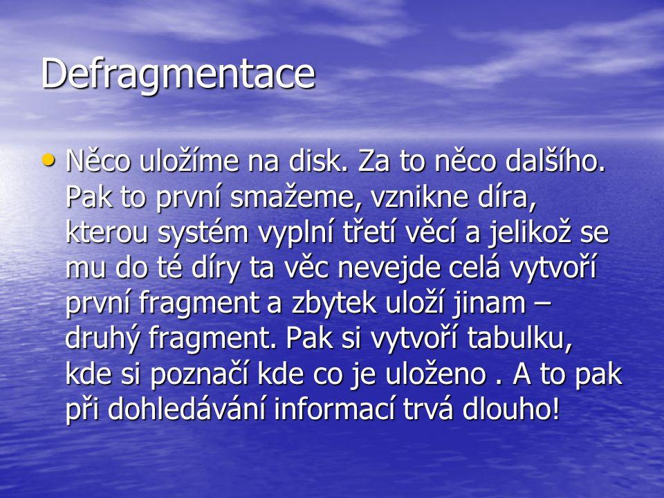 Defragmentace