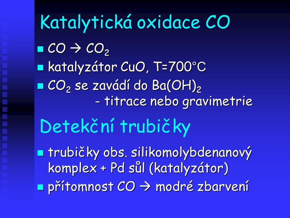 Katalytická oxidace CO