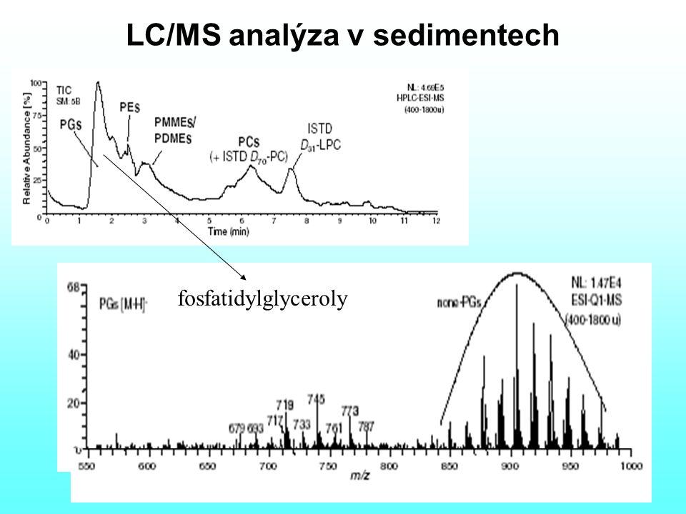 LC/MS analýza v sedimentech