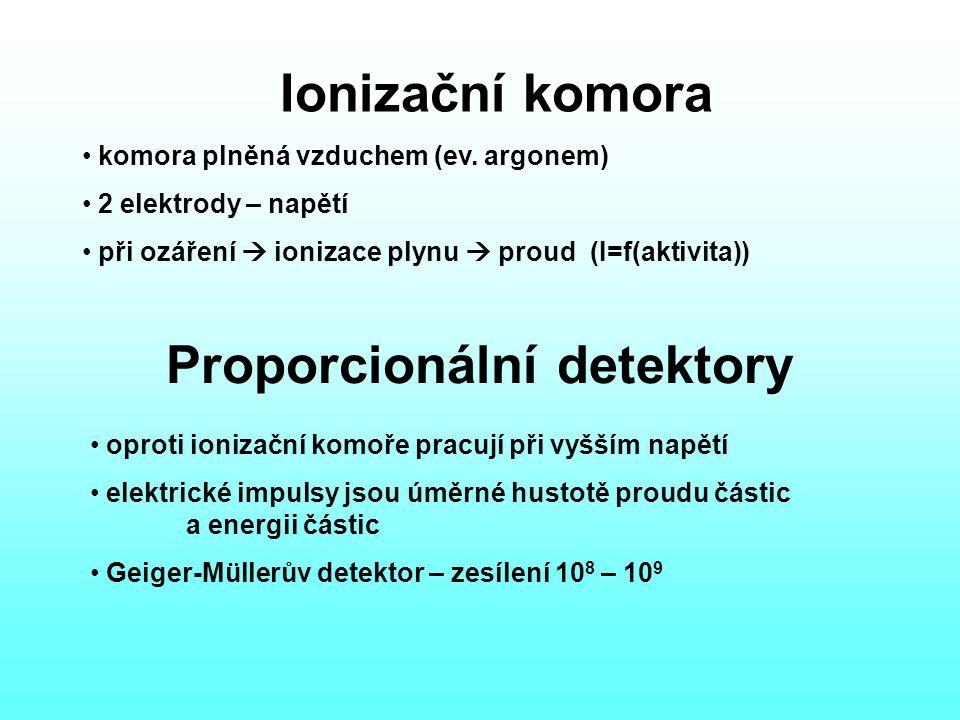 Proporcionální detektory