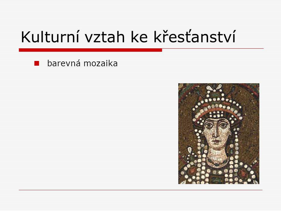 Kulturní vztah ke křesťanství