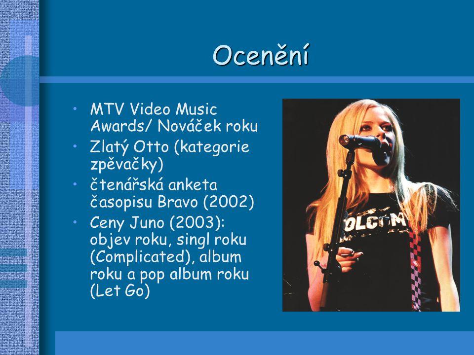 Ocenění MTV Video Music Awards/ Nováček roku