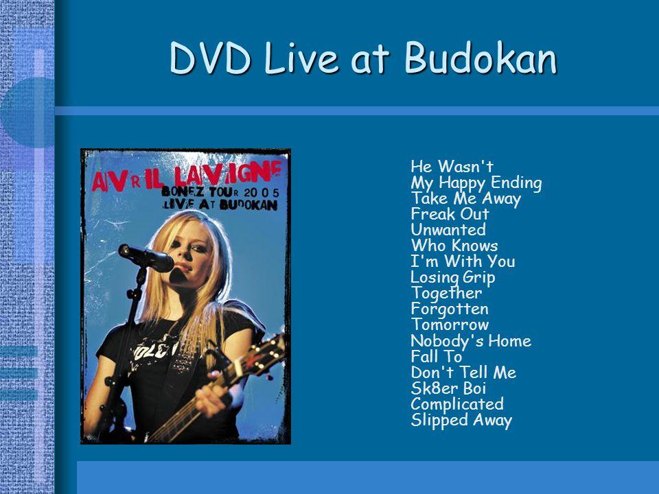 DVD Live at Budokan