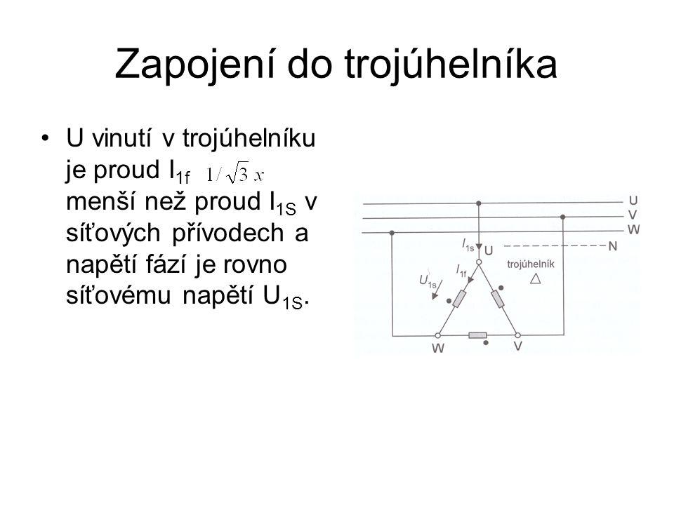 Zapojení do trojúhelníka