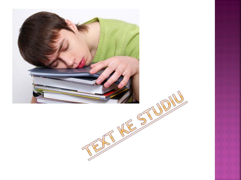 Text ke studiu