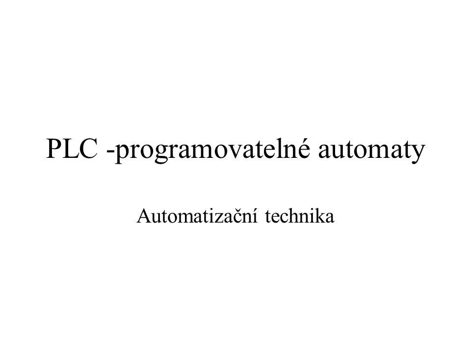 PLC -programovatelné automaty