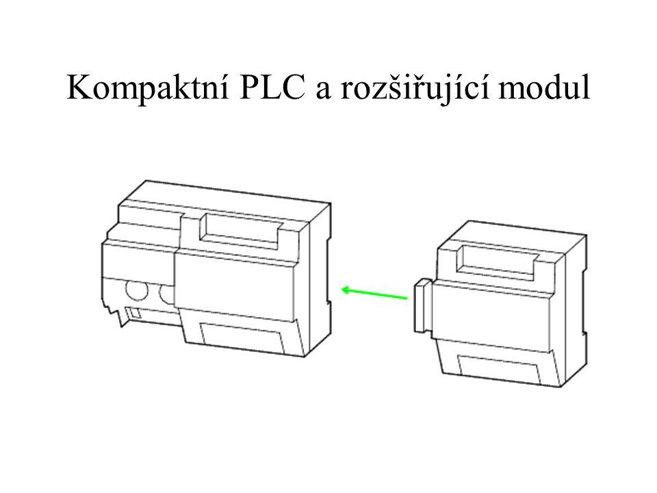 Kompaktní PLC a rozšiřující modul
