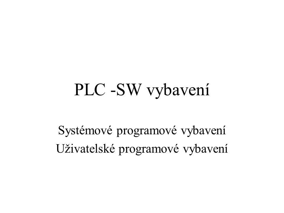 Systémové programové vybavení Uživatelské programové vybavení