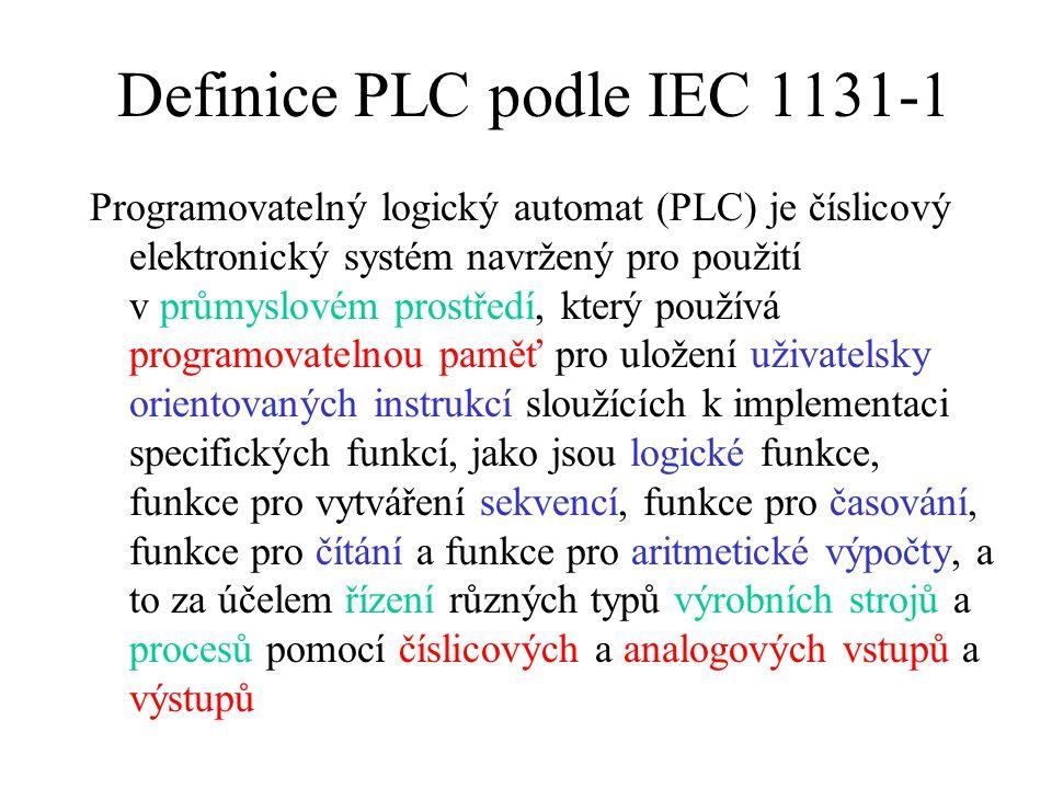 Definice PLC podle IEC 1131-1
