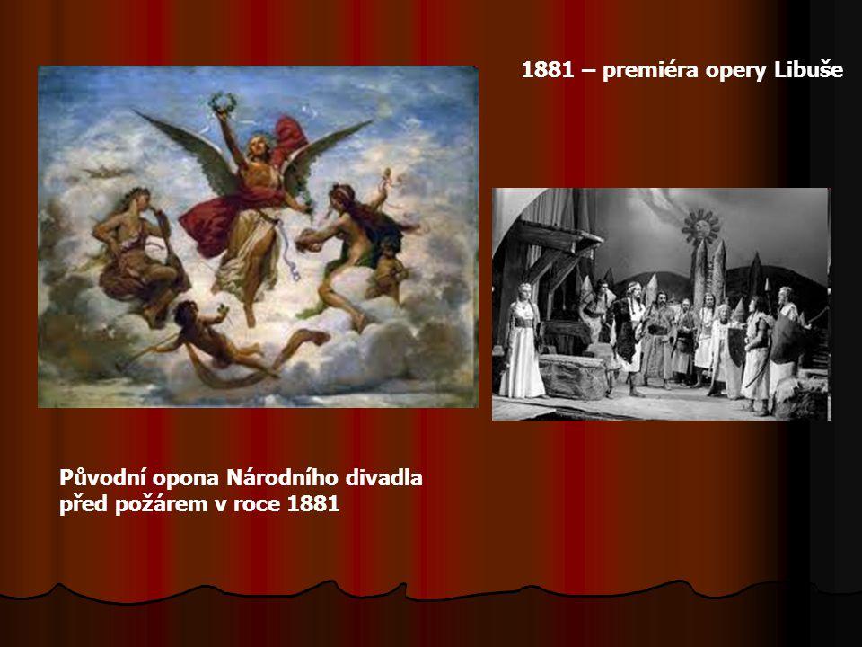 1881 – premiéra opery Libuše