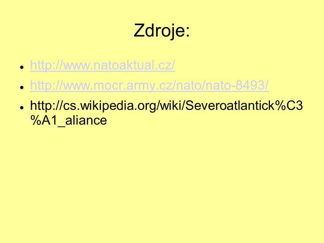 Zdroje: http://www.natoaktual.cz/