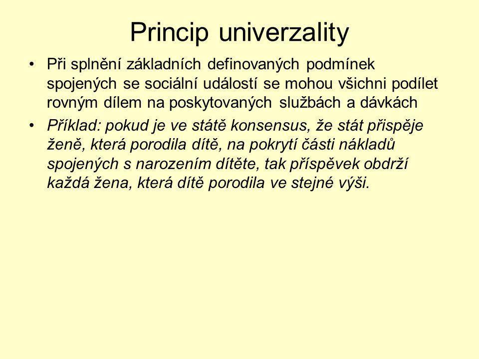 Princip univerzality