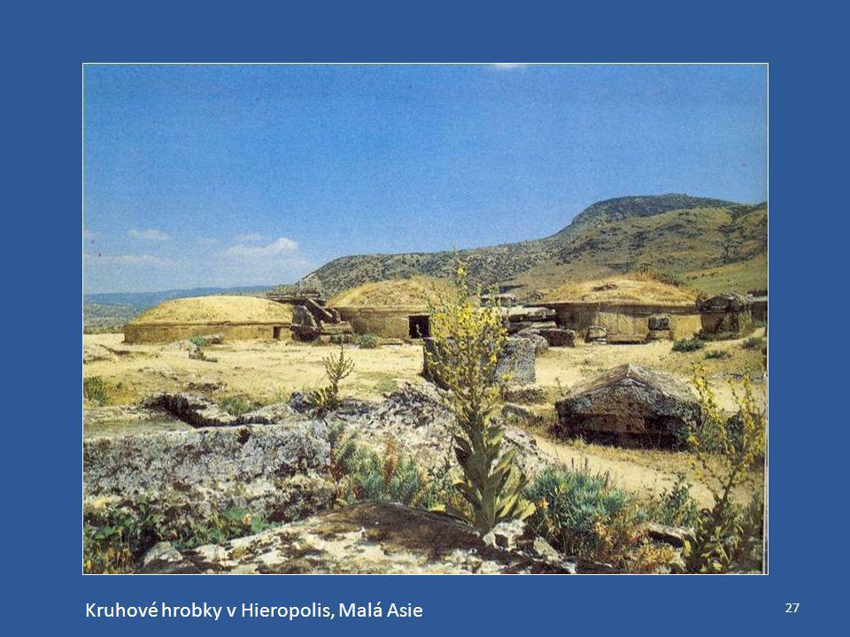 Kruhové hrobky v Hieropolis, Malá Asie