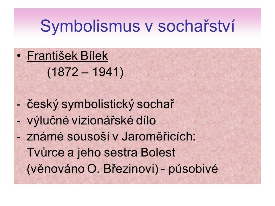 Symbolismus v sochařství