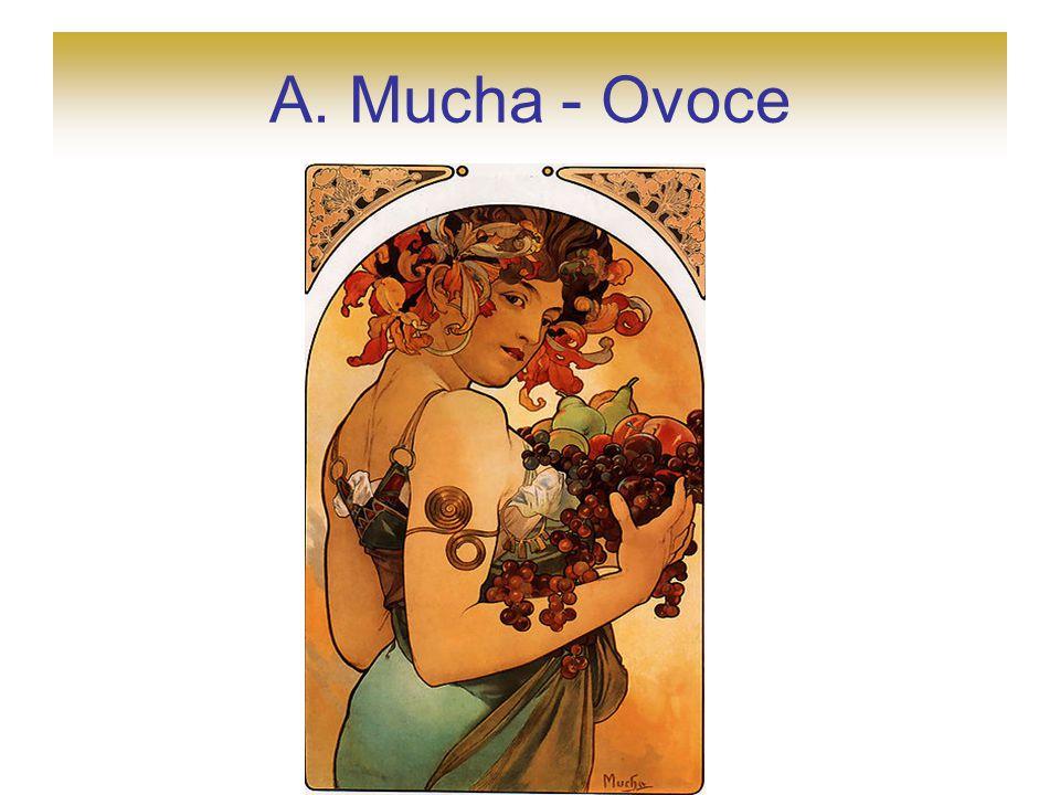 A. Mucha - Ovoce