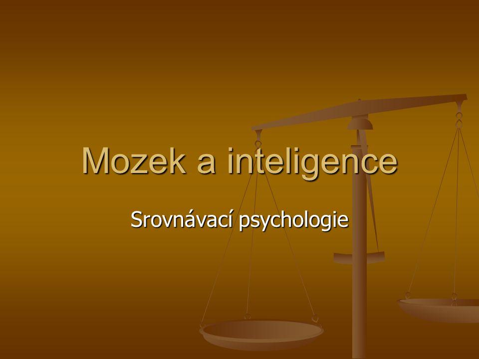 Srovnávací psychologie
