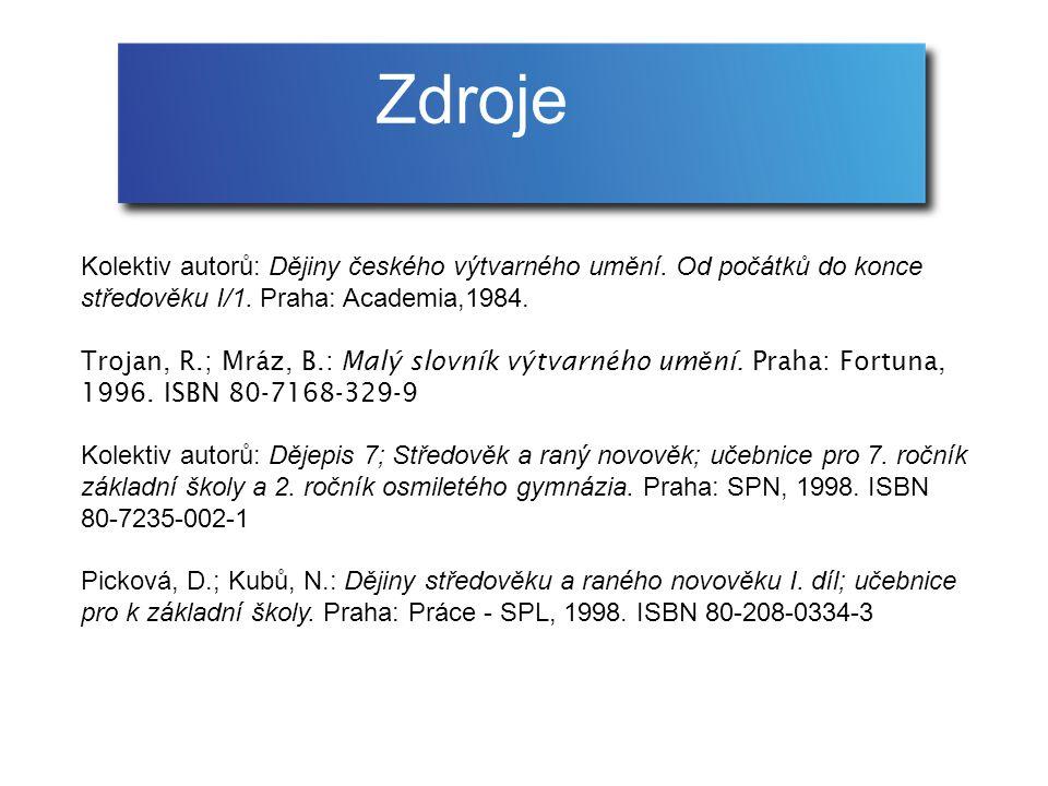 Kolektiv autorů: Dějiny českého výtvarného umění