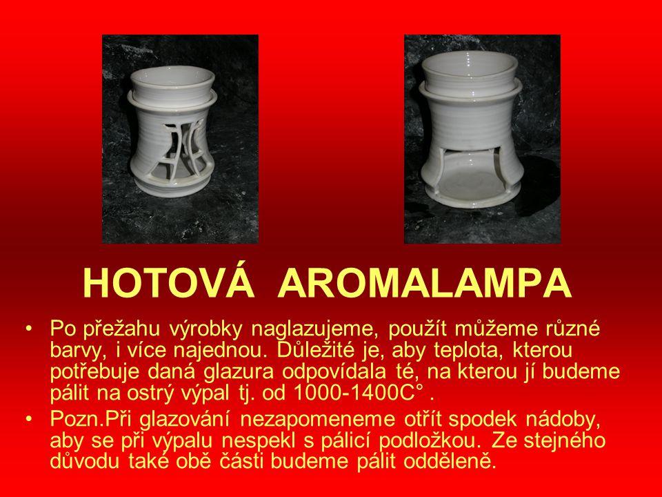 HOTOVÁ AROMALAMPA