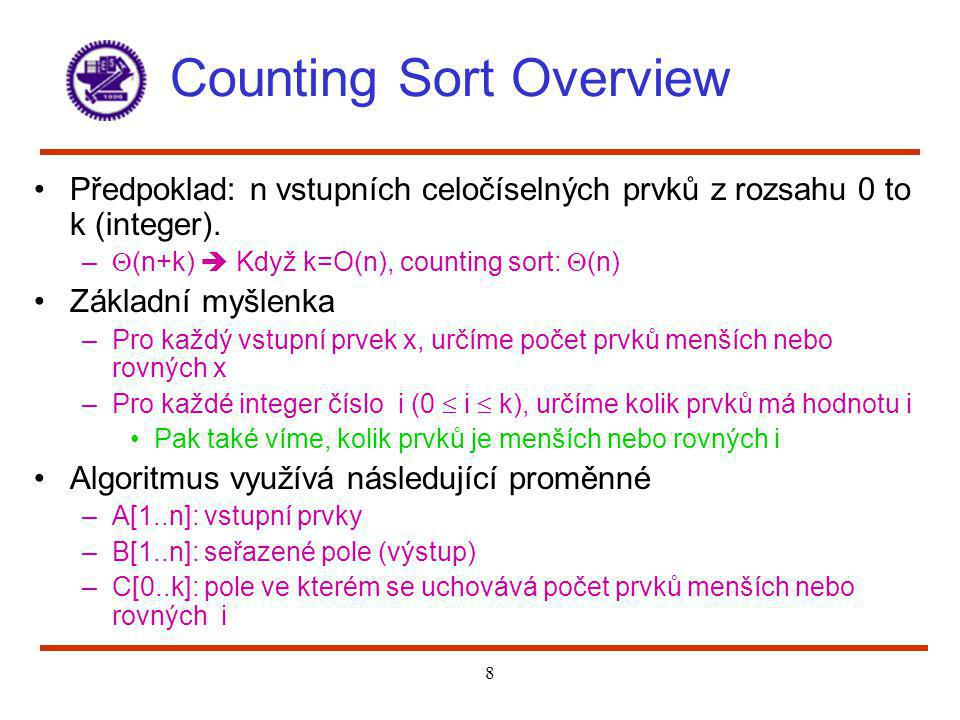 Counting Sort Overview