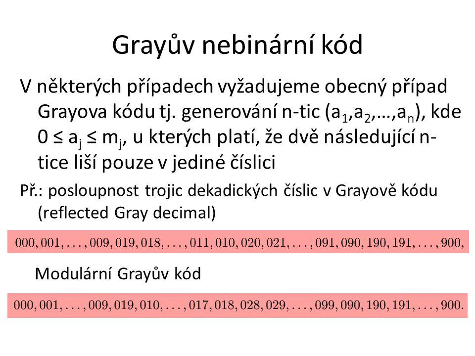 Grayův nebinární kód