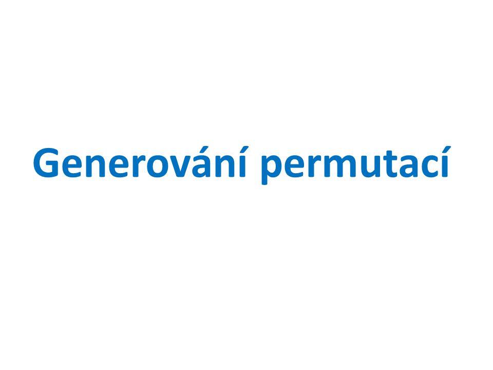 Generování permutací