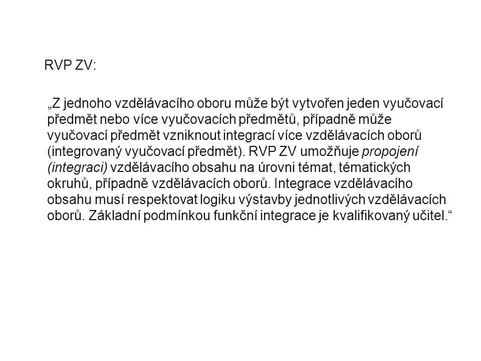 RVP ZV: