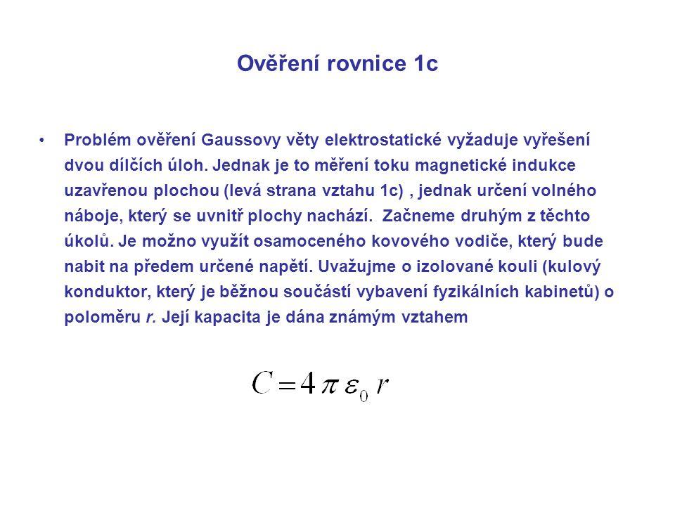 Ověření rovnice 1c