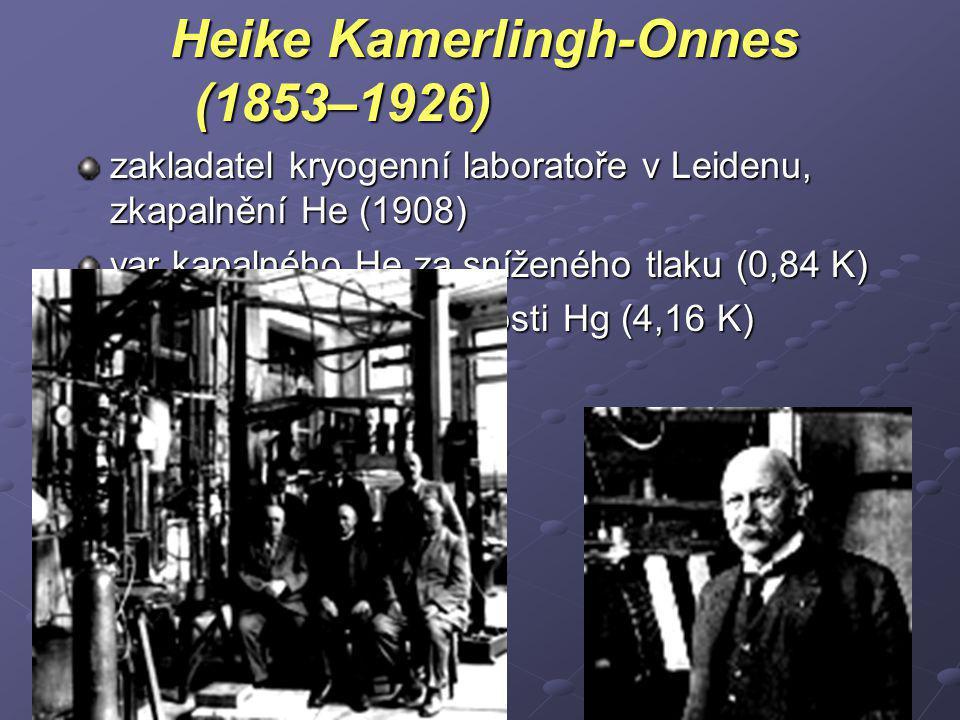 Heike Kamerlingh-Onnes (1853–1926)