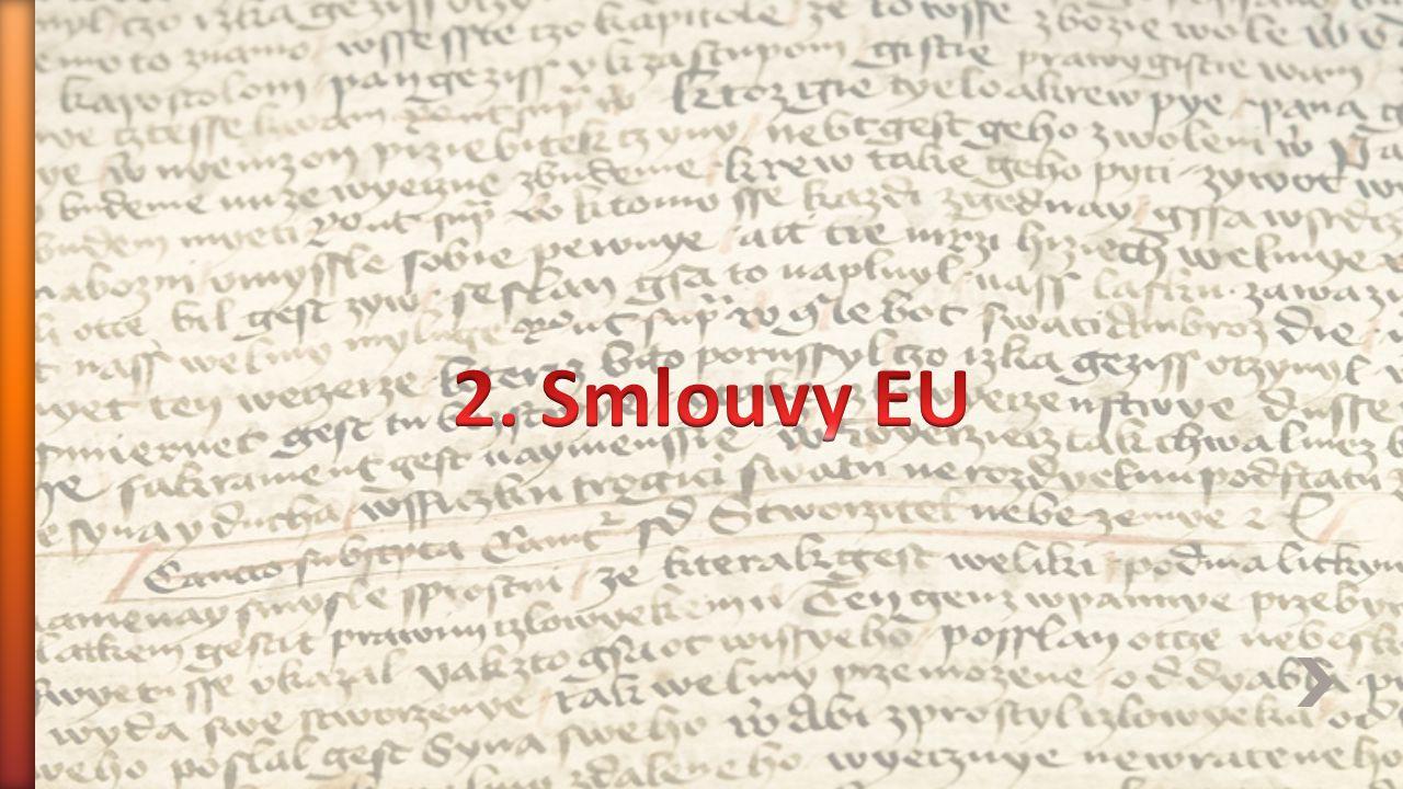 2. Smlouvy EU