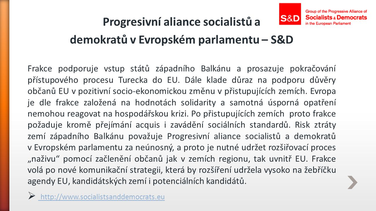 Progresivní aliance socialistů a
