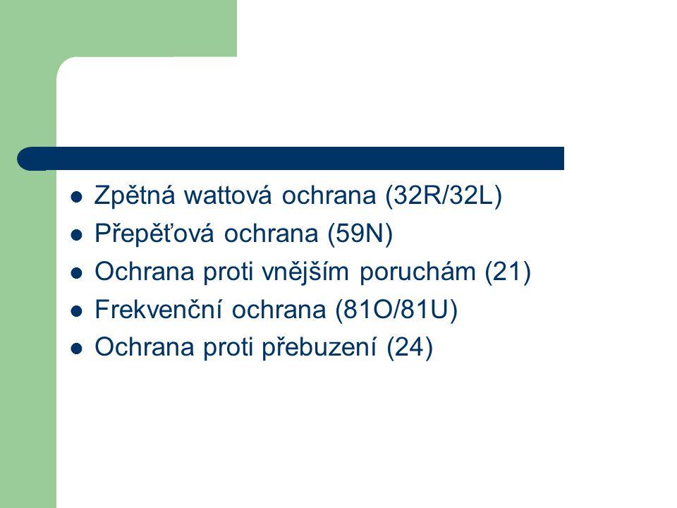 Zpětná wattová ochrana (32R/32L)
