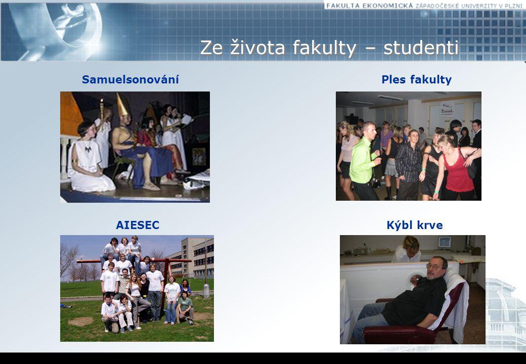 Ze života fakulty – studenti