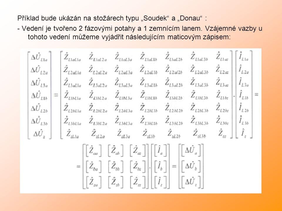 """Příklad bude ukázán na stožárech typu """"Soudek a """"Donau :"""