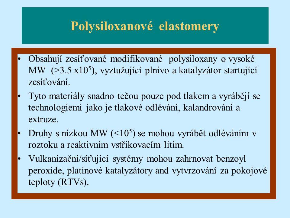 Polysiloxanové elastomery