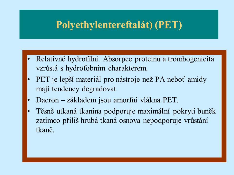 Polyethylentereftalát) (PET)