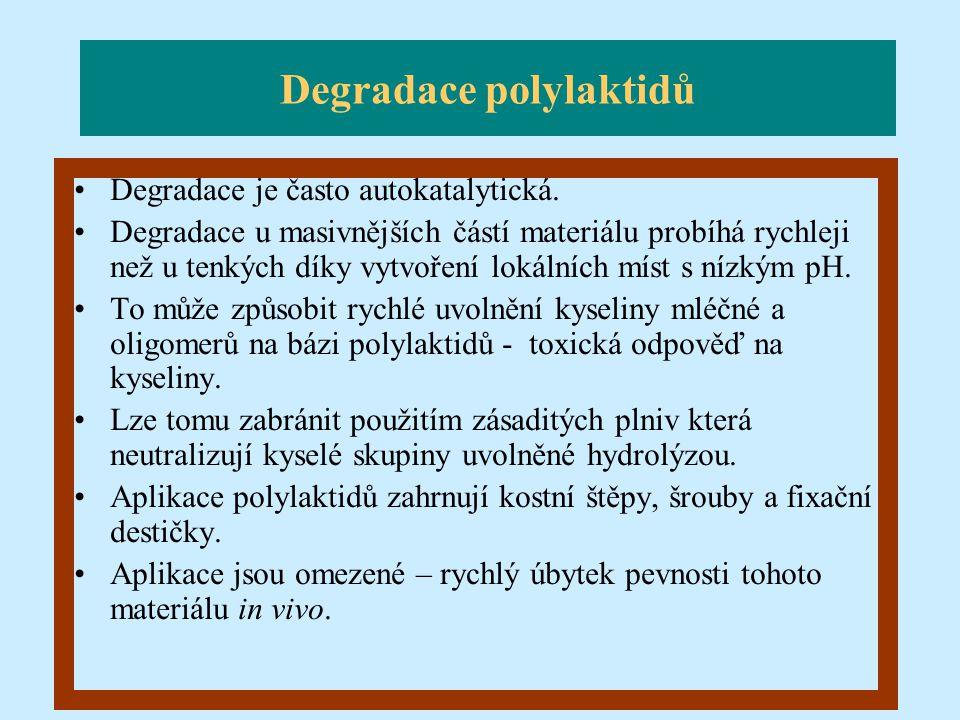 Degradace polylaktidů
