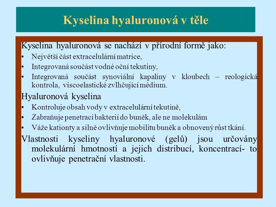 Kyselina hyaluronová v těle