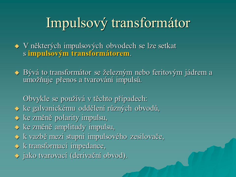 Impulsový transformátor