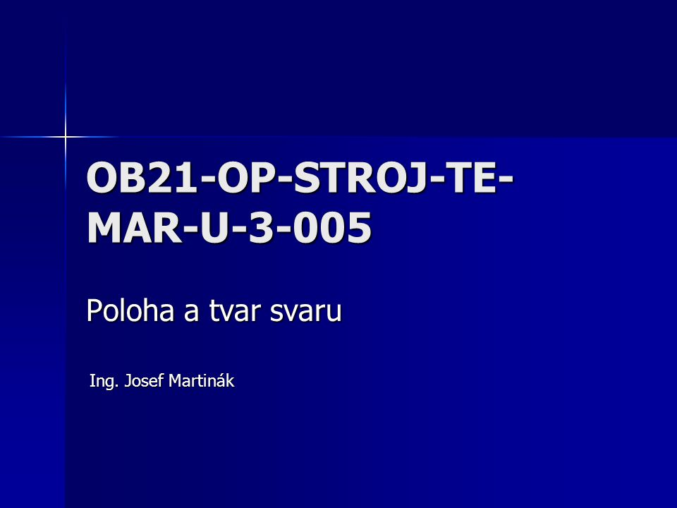 OB21-OP-STROJ-TE-MAR-U-3-005