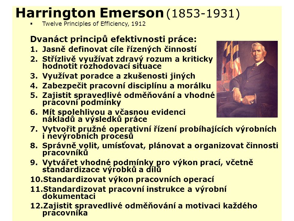 Harrington Emerson (1853-1931)