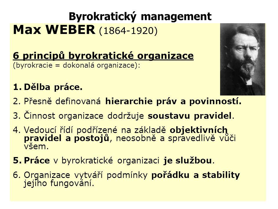 Byrokratický management