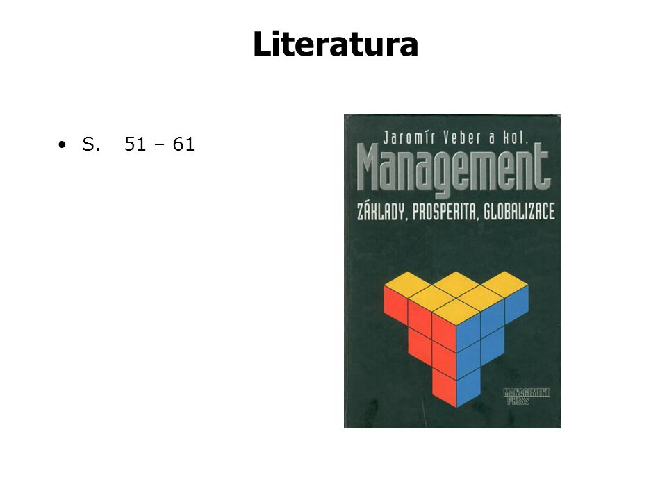 Literatura S. 51 – 61
