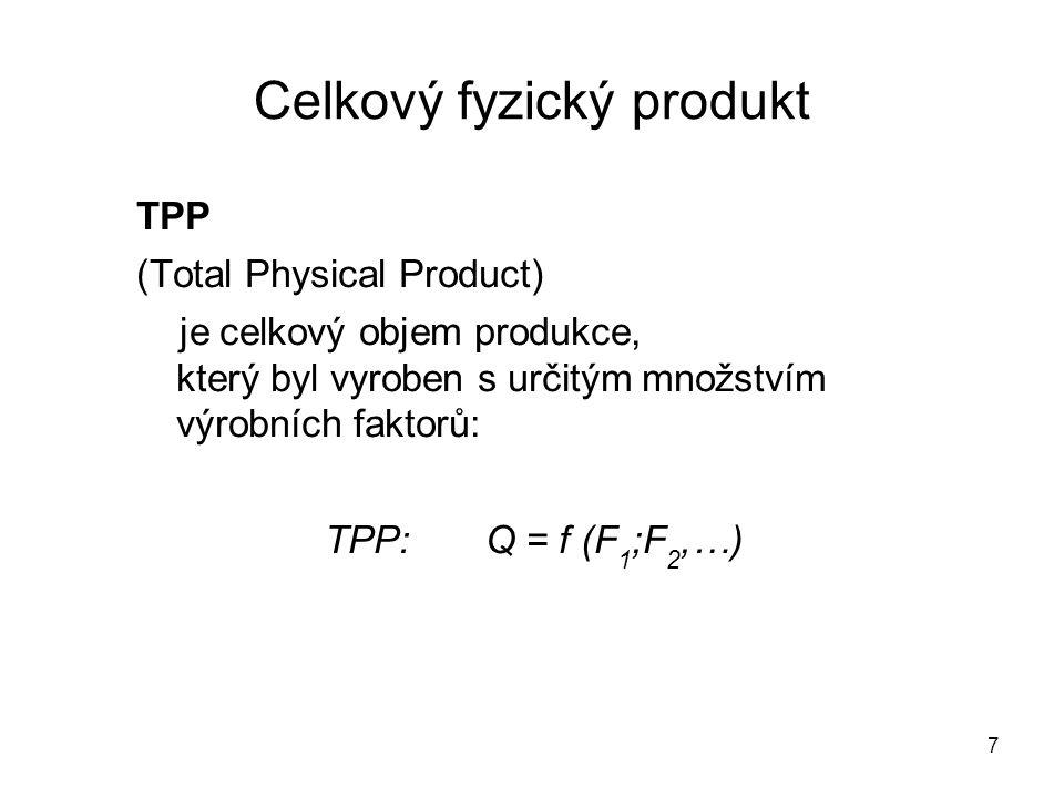 Celkový fyzický produkt