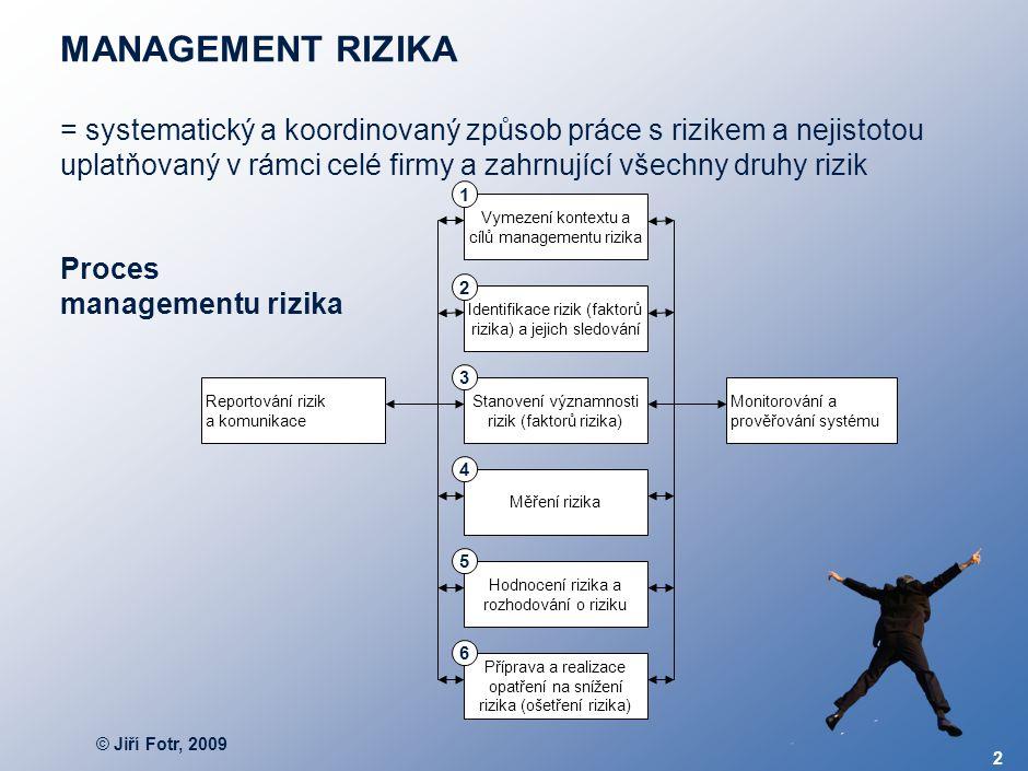 Fáze 2 až 4 – Analýza rizika