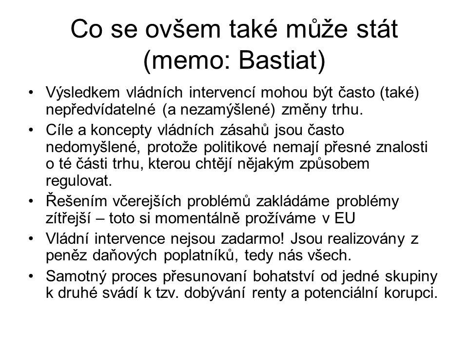 Co se ovšem také může stát (memo: Bastiat)