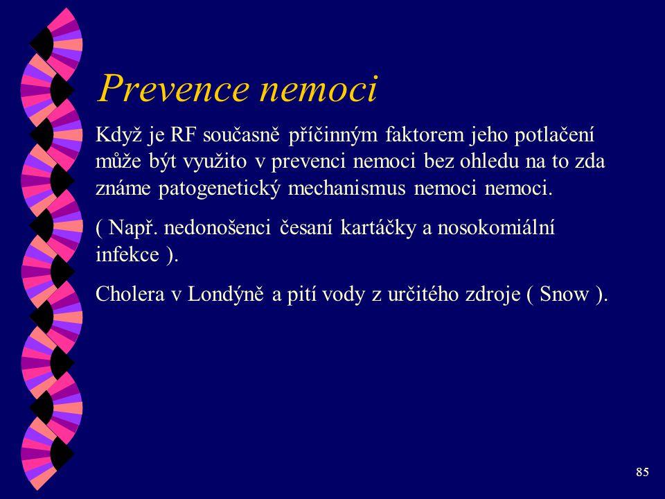 Prevence nemoci