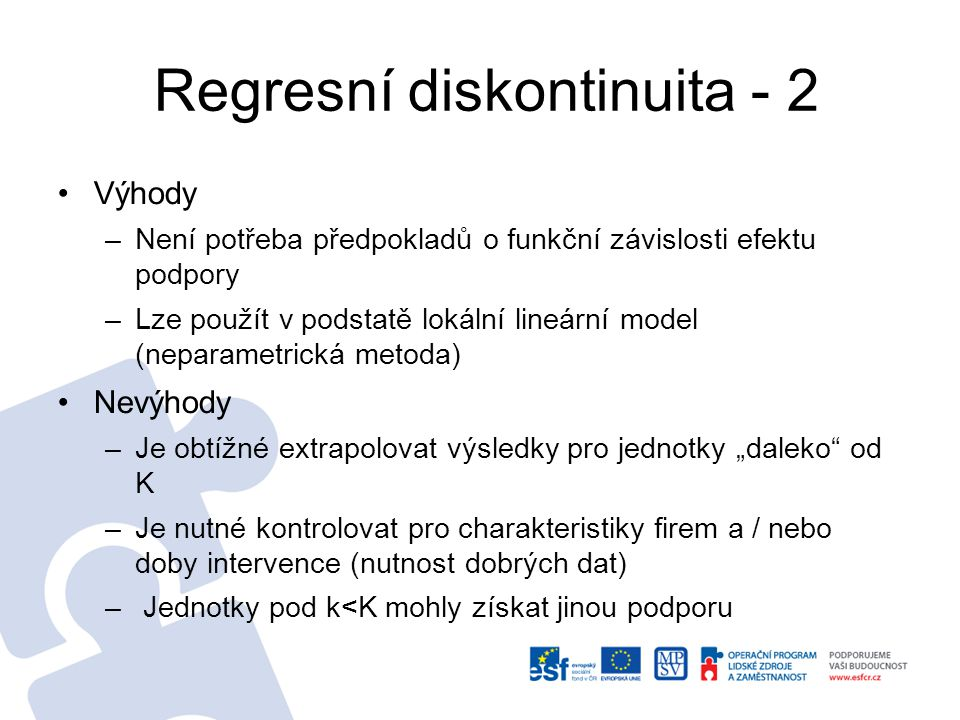 Regresní diskontinuita - 2