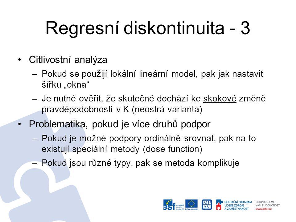 Regresní diskontinuita - 3